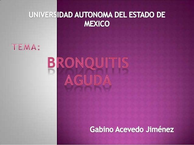 Bronquiolitis cronica