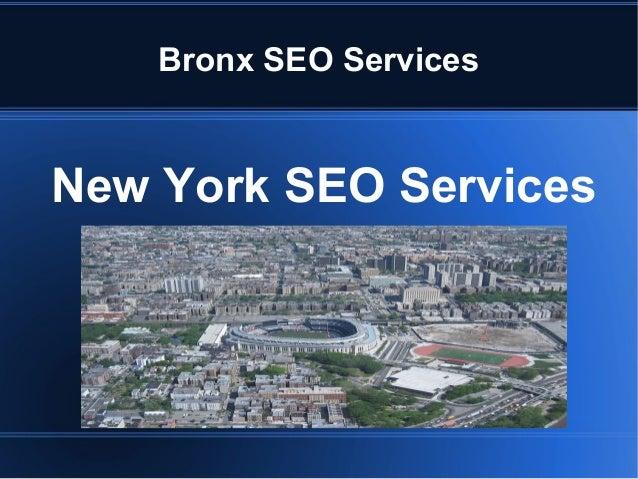 Bronx SEO Services New York SEO Services
