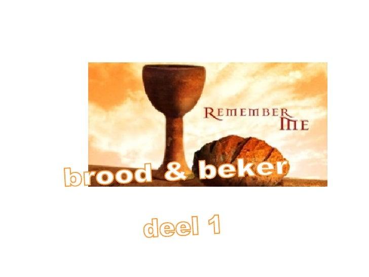 Brood&beker 1