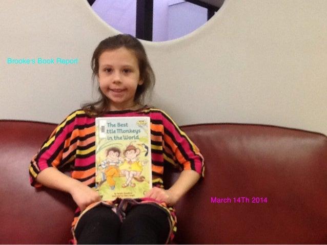 Brooke's Report: The Best Little Monkeys in the World