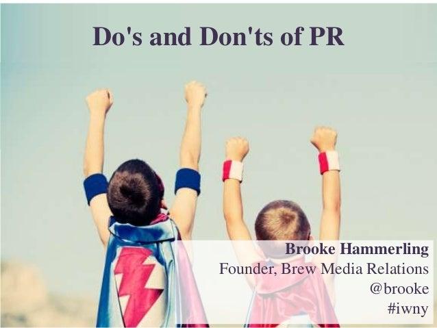 Brooke Hammerling_BrewPR_Internet Week_Presentation