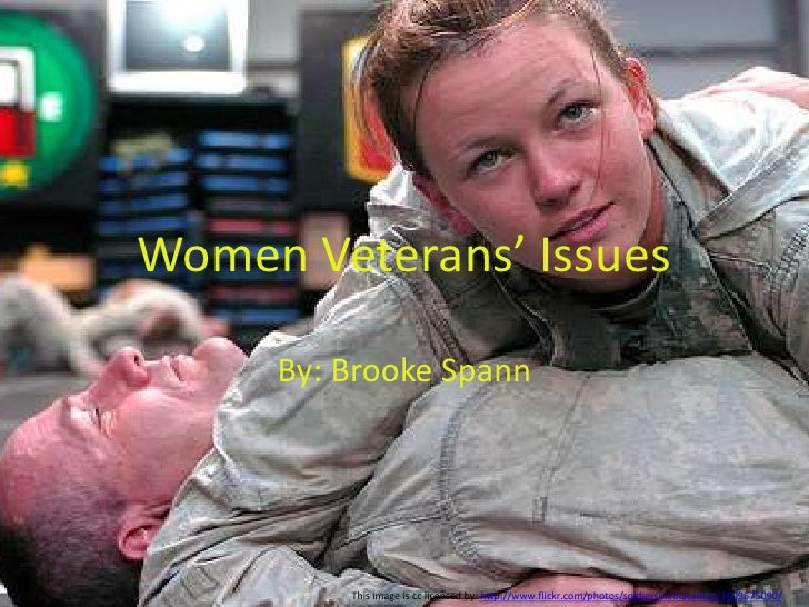 Brooke Women Veterans' Issues 5th period