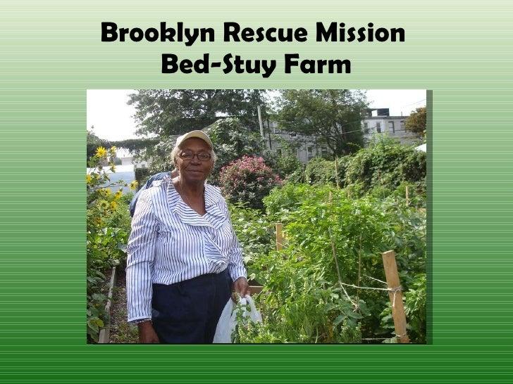Farm City Forum - Session 3 - Bed Stuy Farm - Rev. Robert E. Jackson