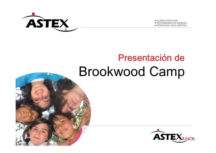 Presentación deBrookwood Camp