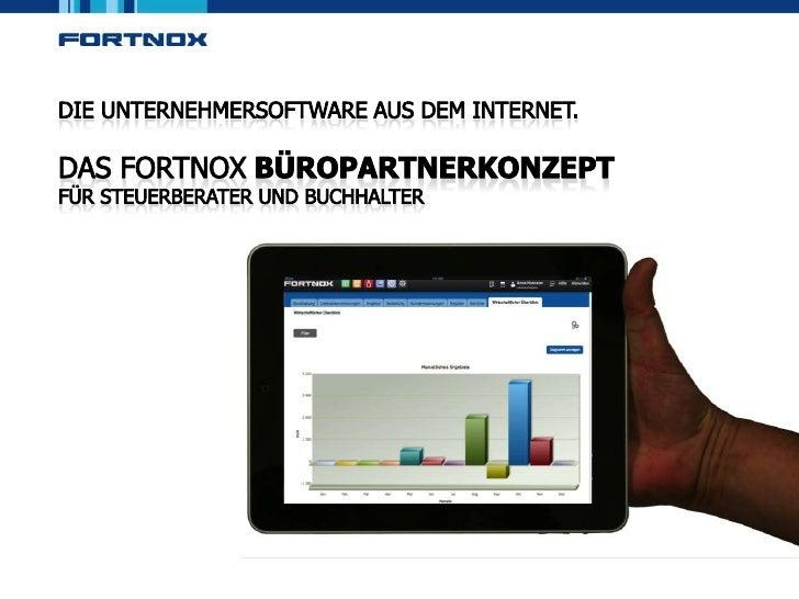 (c) Fortnox GmbH 2012