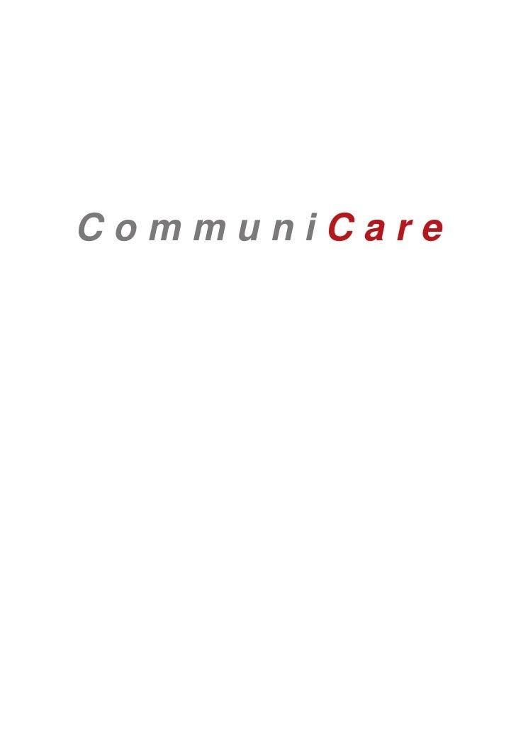 Broschüre CommuniCare