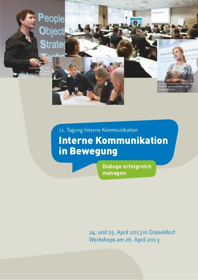 Sean MacNiven, SAP,                   auf der TagungInterne Kommunikation im Mai 2012                                     ...