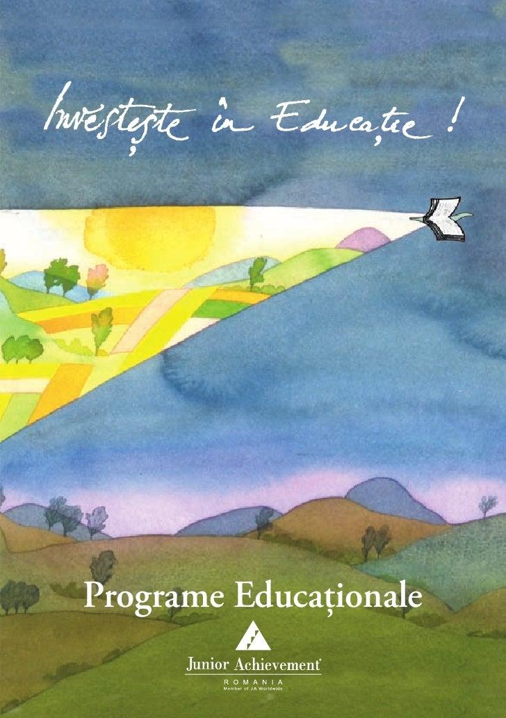 Programe Educaţionale