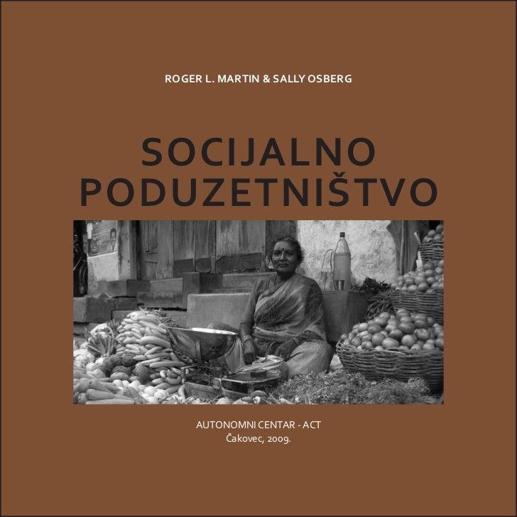 Socijalno poduzetništvo