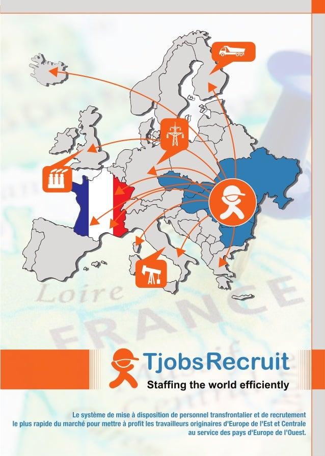 TjobsRecruit, système de mise à disposition et recruitment de personnel tr…