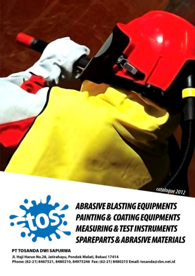 Brosur paintind dan sandblasting equipments