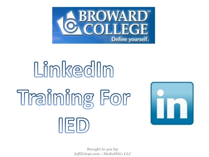 Broward College Institute of Economic Development