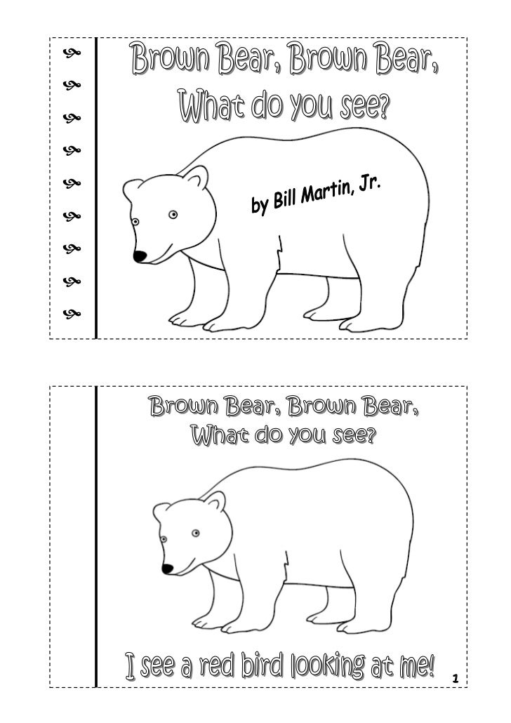 Brown Bear Brown Bear Crafts For Preschoolers
