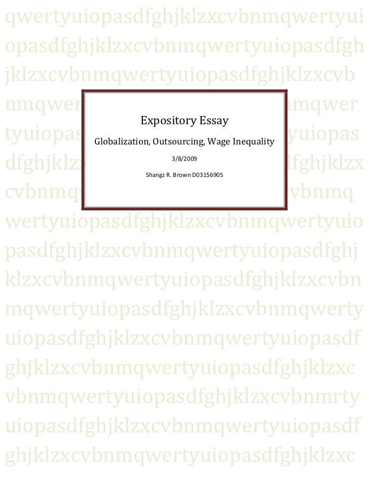 I need help writing Expository essay?