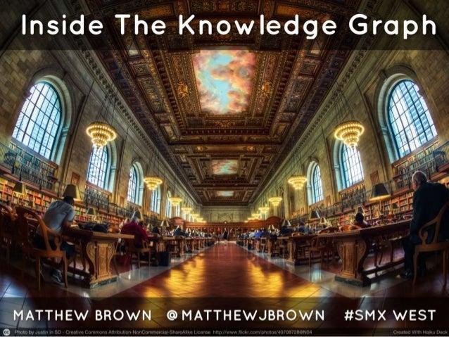 Inside Google Knowledge Graph