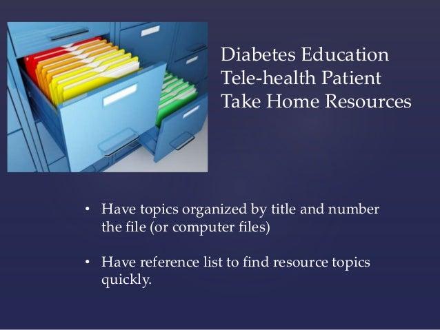 Accessing Diabetes Education Through Telehealth