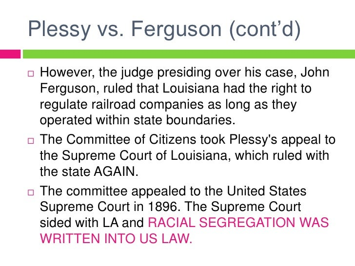 a report on the supreme court case of brown v board of education on the topic of segregation in the