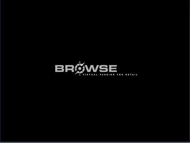 Browse E-Commerce Plattform für den stationären Handel