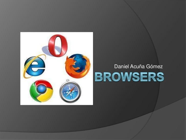 Browser   daniel acuña