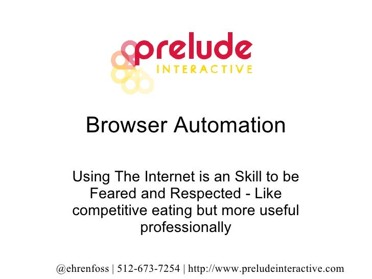 Browser Automation