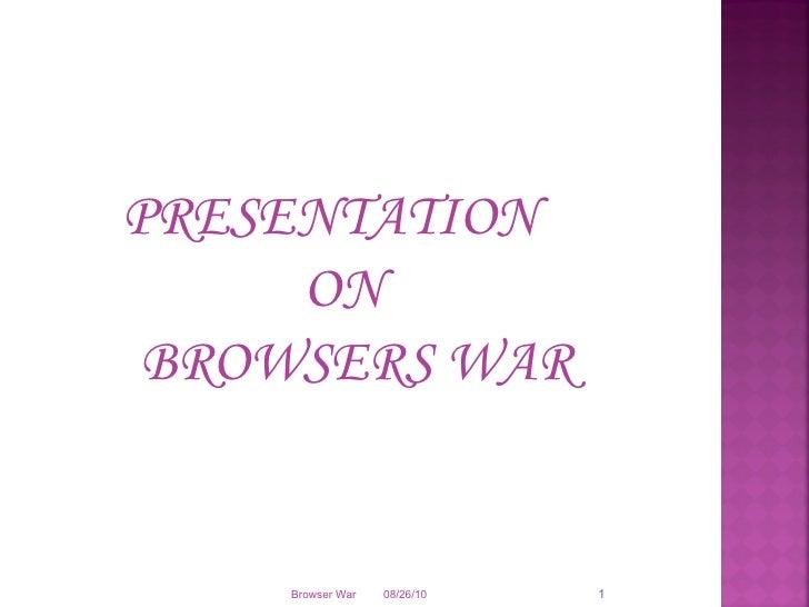 Browser war