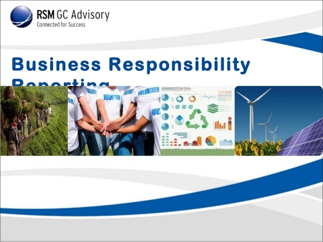 Business Responsibility Reporting