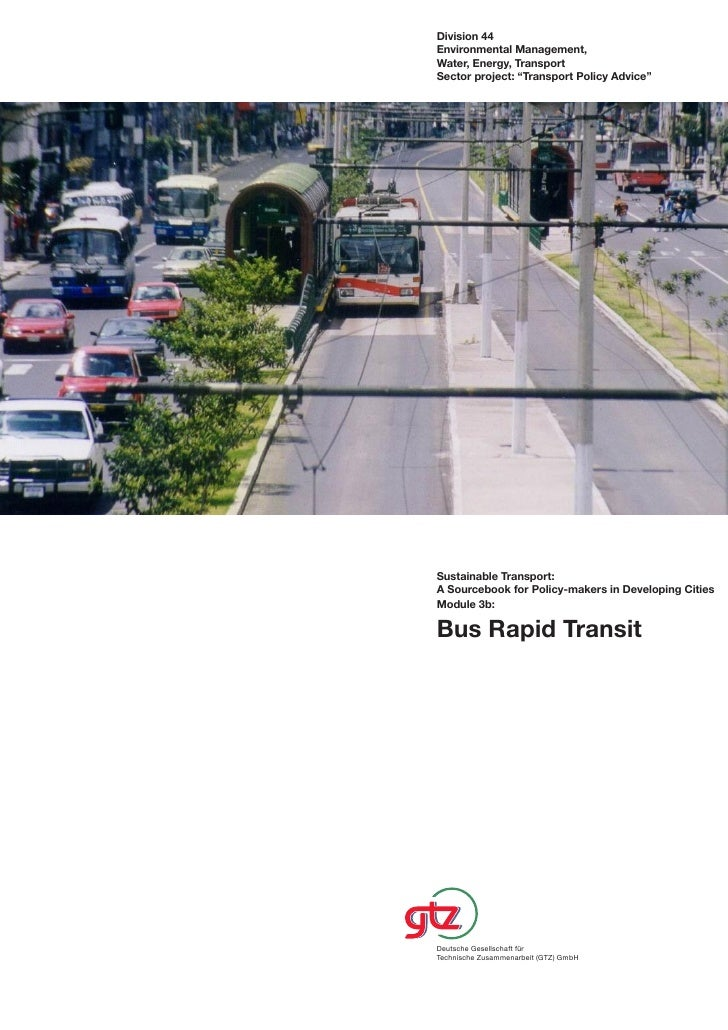 """Division 44 Environmental Management, Water, Energy, Transport Sector project: """"Transport Policy Advice""""     Sustainable T..."""