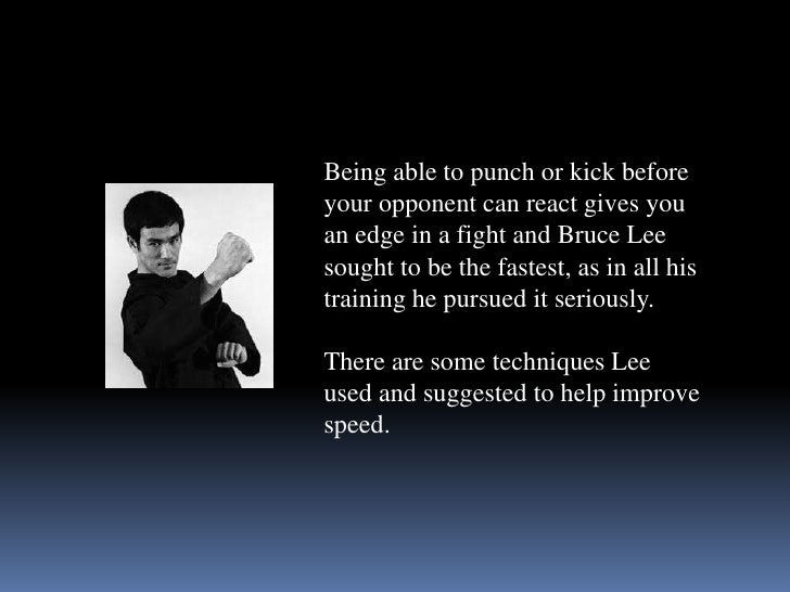 Bruce Lee Quotes - Sources of Insight