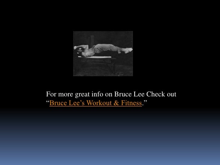 bruce lee speed training Kungfu master and actor bruce lee is a legend his amazing physical feats can never be surpassed here we've collected 10 surprising facts about bruce lee.