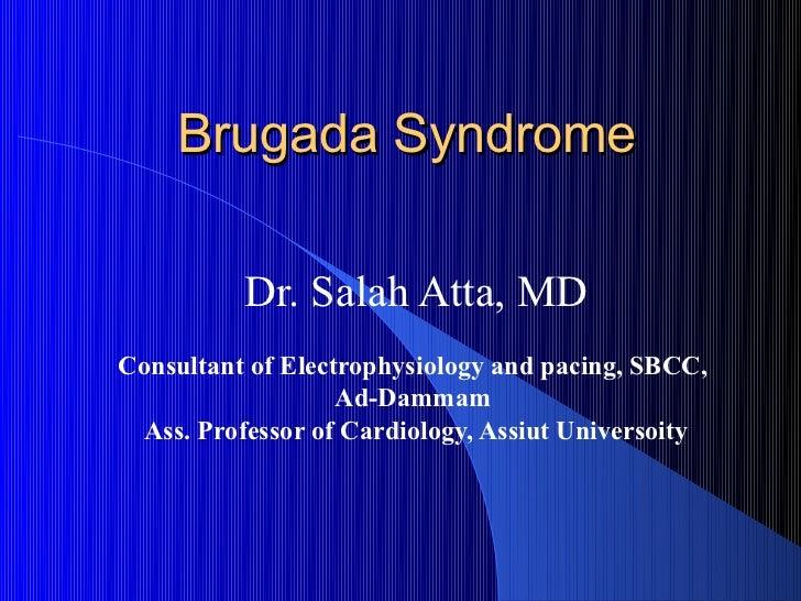 Brugada Syndrome, Sbcc 2012