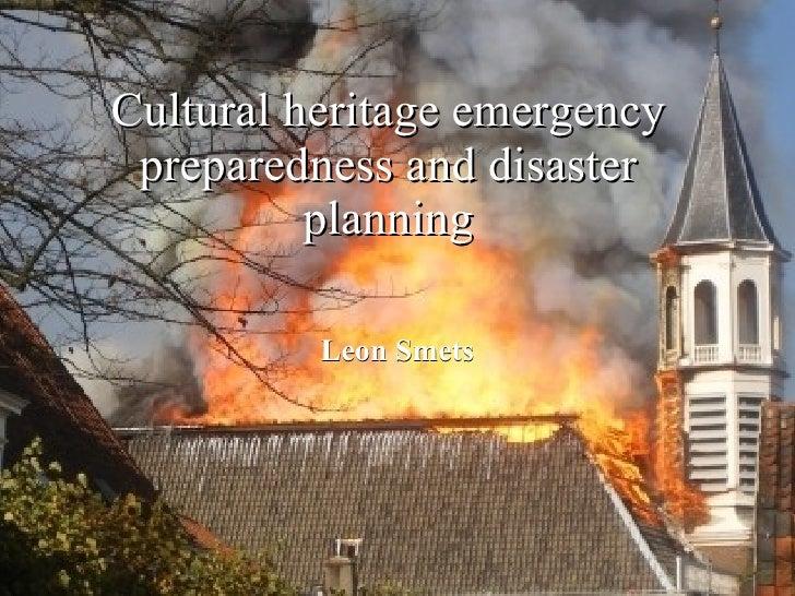 Brugge Disaster Planning