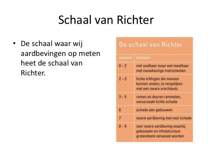 Schaal Van Richter Schaal Van Richterde