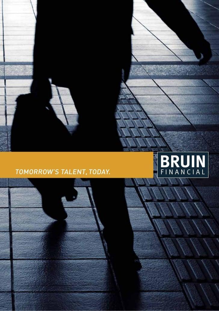 Bruin Financial Brochure Online