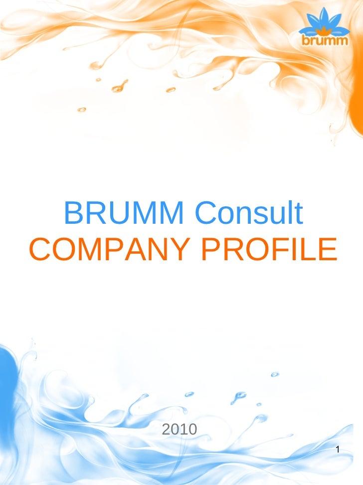 Brumm Company Profile