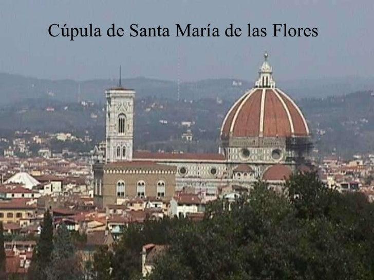 Cúpula de Santa María de las Flores