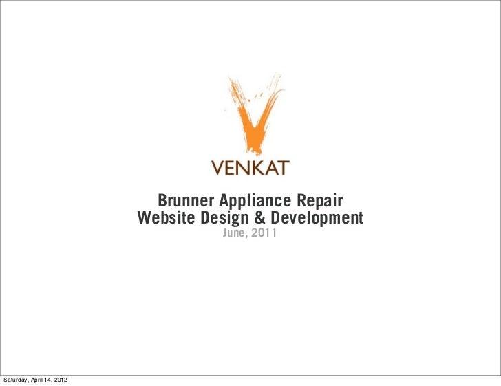 Brunner Appliance Repair Website