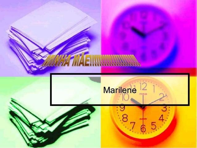 MarileneMarilene