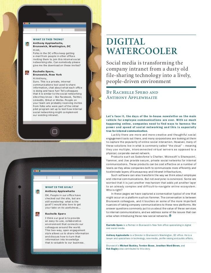 Digital Watercooler