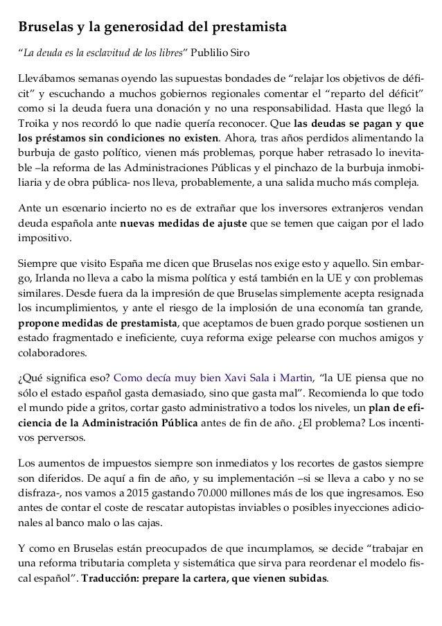 Bruselas y la generosidad del prestamista   lleno de energía - cotizalia.com