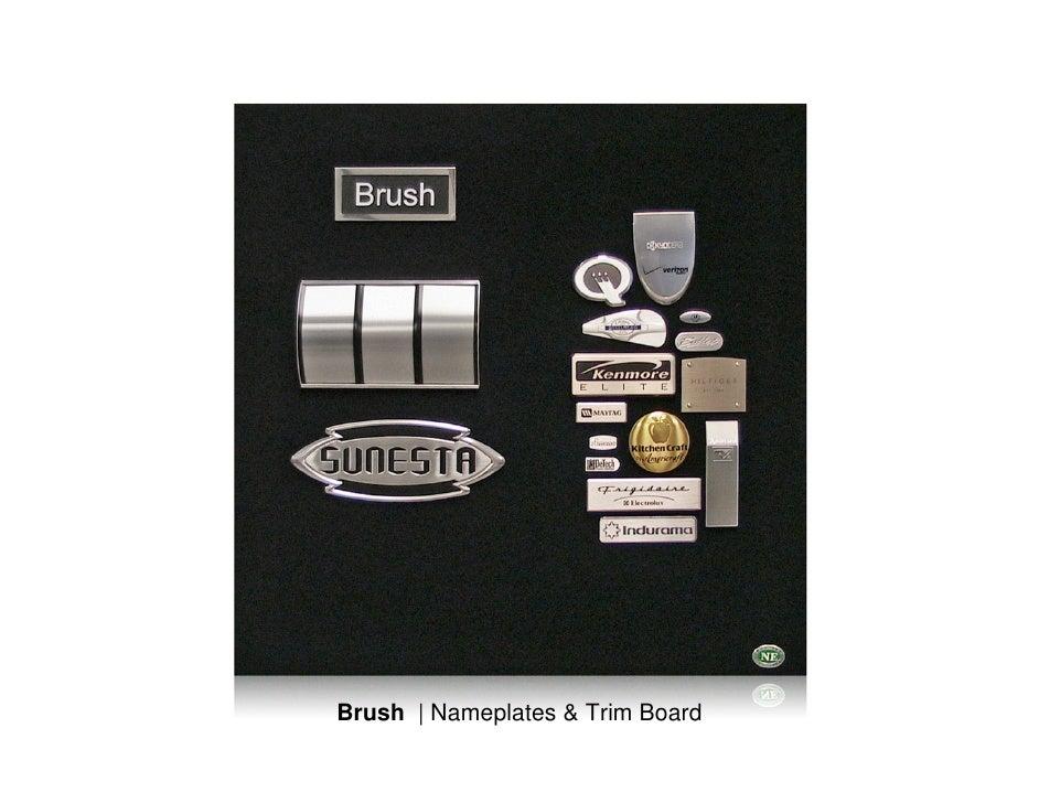 Brush | Aluminum Nameplates