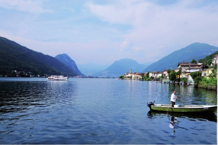 Weekend sul lago di Lugano: Brusino
