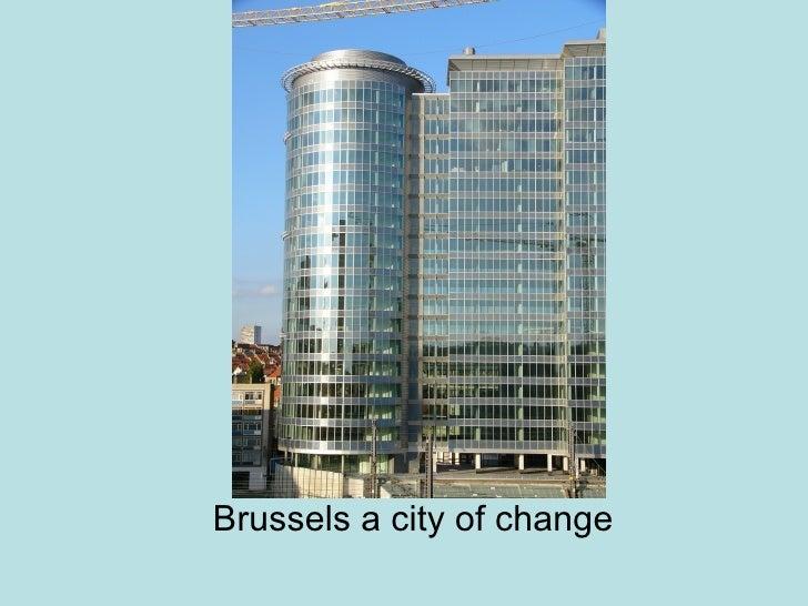 Brussels Regeneration And Landscape