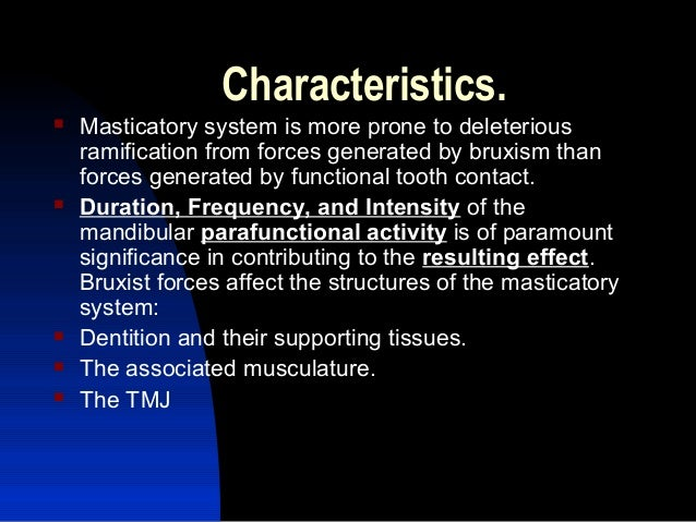 What is normal mastication or chewing force in terms of psi?