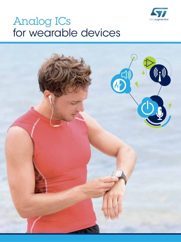STMicroelectronics offers smart solutions for wearable devices