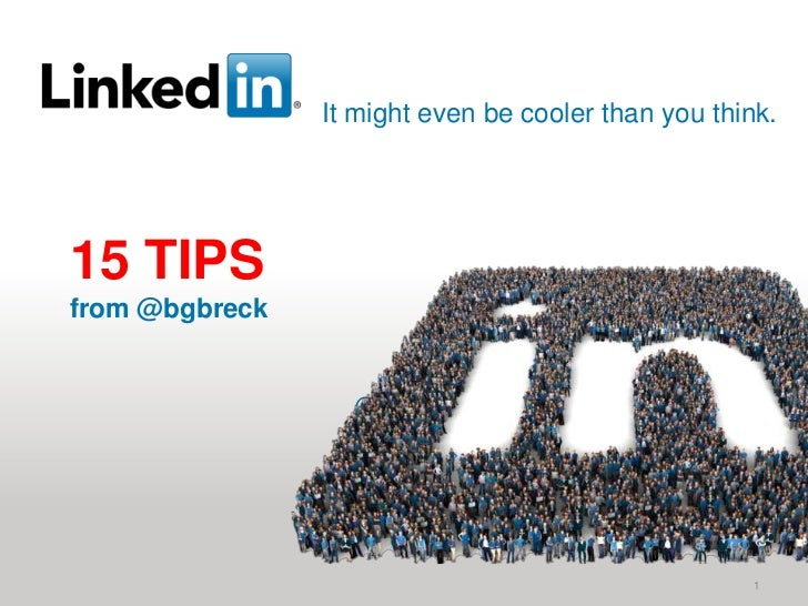 It might even be cooler than you think.15 TIPS from @bgbreck<br />1<br />