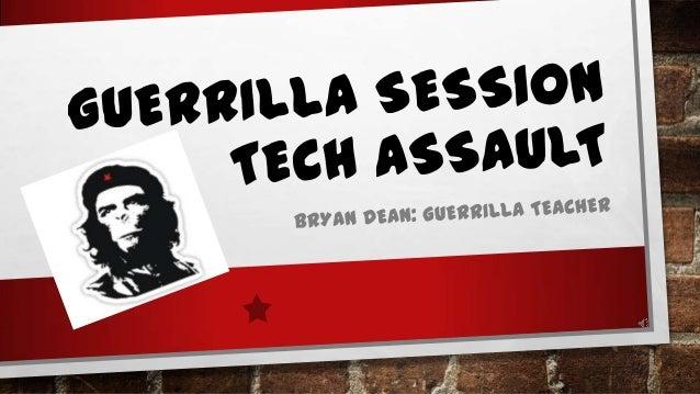 BRYAN DEANGUERRILLA TEACHER• LEARNING SPECIALIST/UDL COORDINATOR• UDL CONSULTANT :OAKLAND SCHOOLS• HTTP://BIT.LY/15VBOUZ• ...