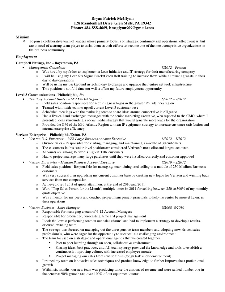 six sigma resumes