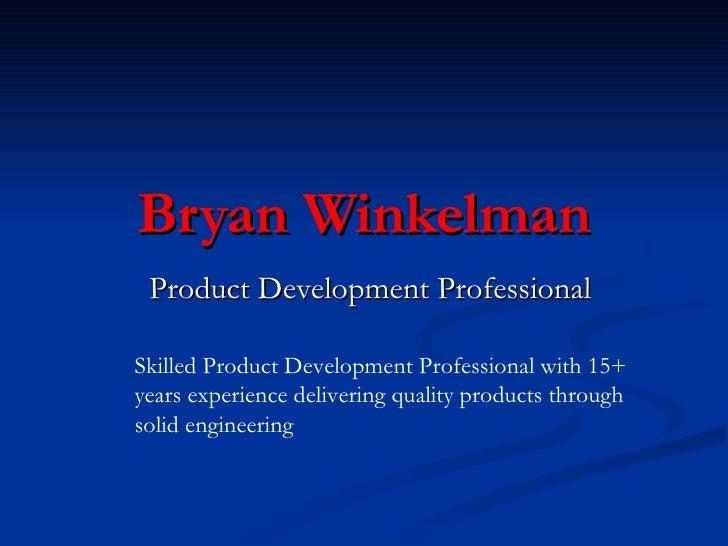 Bryan Winkelman