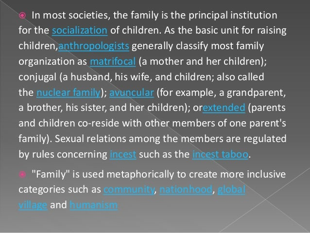 Importance of Matrifocal family in the caribbean Essay