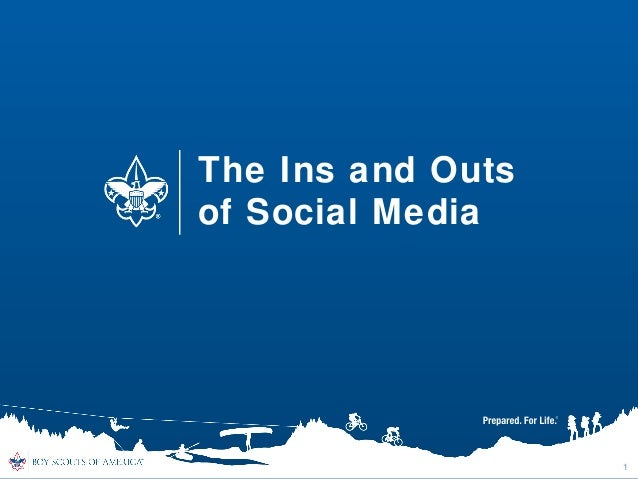 The Ins and Outs of Social Media For Scouting Units
